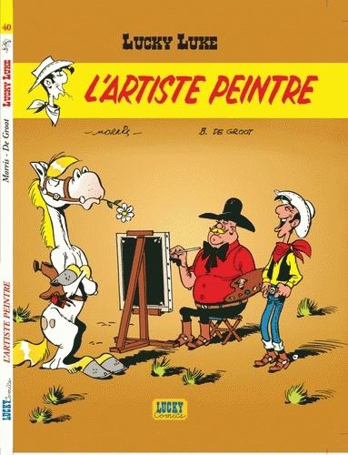 Lucky Luke l'artiste peintre